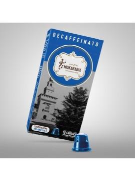 CAPSULE CAFFÈ COMPATIBILI NESPRESSO DECAFFEINATO